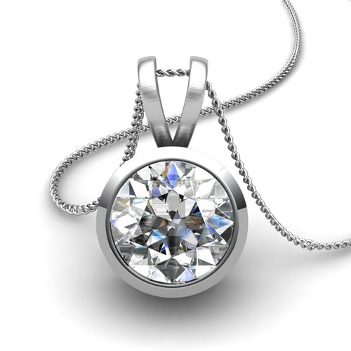 the diamond solitaire