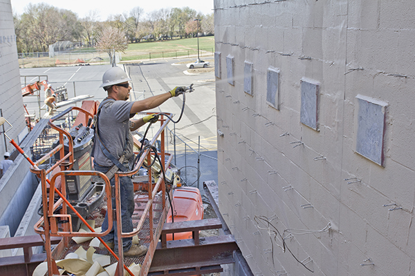 Waterproofing Construction Testing